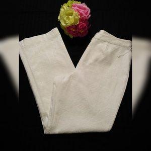 WORTHINGTON  BOOTCUT DRESS PANTS, TEXTURED PRINT.